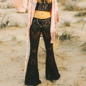Spell The Gypsy Fleetwood Crochet Flare Bell Pants